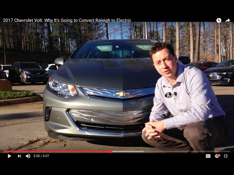 2017 Chevrolet Volt Review: Why It