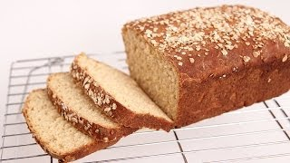 Honey Oat Bread Recipe - Laura Vitale - Laura In The Kitchen Episode 724