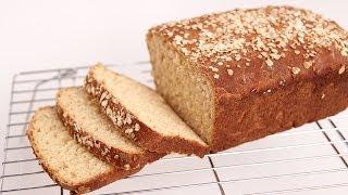 Honey Oat Bread Recipe - Laura Vitale - Laura in the Kitchen Episode 724
