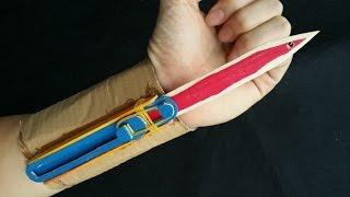 видео как сделать клинок ассасина дома