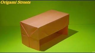 Как сделать стол из бумаги Оригами Стол в кукольный домик