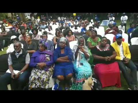 POVO People's Own Voice Launch of a New Zim Political Party 29.3.2018