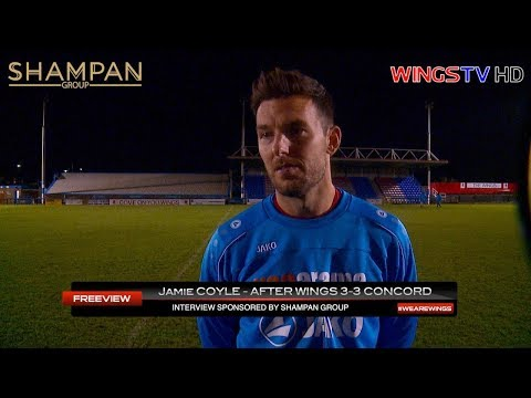 WingsTV Jamie Coyle after Concord sponsored by @ShampanGroup