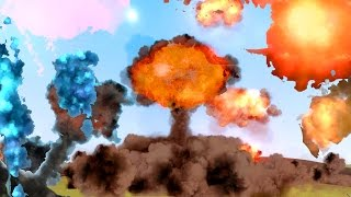 THE BIGGEST NUKE EVER!! | Crazy Explosive Bombs In Gmod!