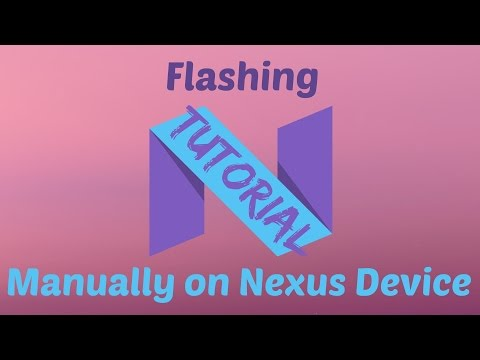 How to flash Factory Image on any Nexus Manually