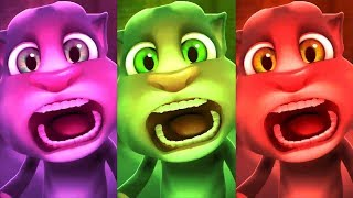 Learn Colors with My Talking Tom Colours for Kids Animation Education Cartoon Compilation P5