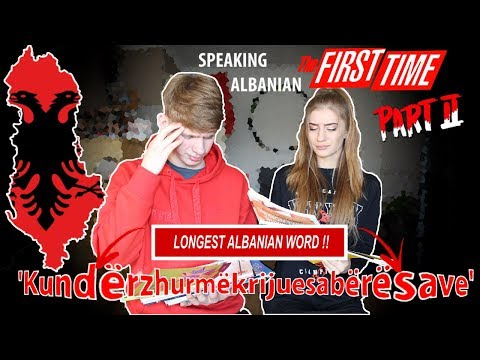SPEAKING Albanian For The First Time PART 2