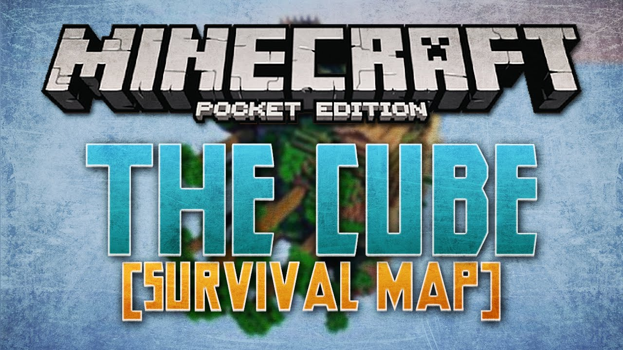 Cube world in mcpe survival map minecraft pocket edition youtube cube world in mcpe survival map minecraft pocket edition gumiabroncs Gallery