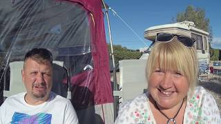 Our February caravan site stay Mojacar Spain