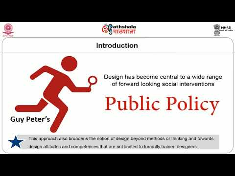 Policy Design and Tools