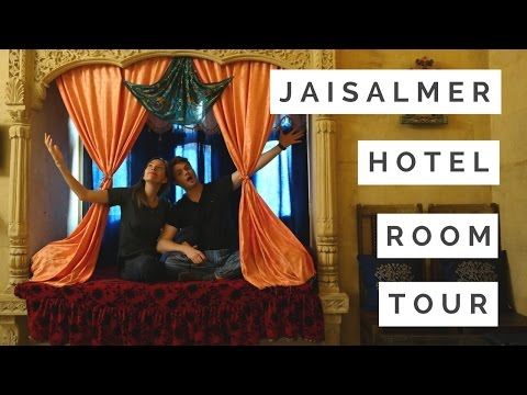Jaisalmer Hotel Room Tour in India (Rajasthan Haveli)