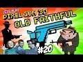 Dad & Son Play Pixel Gun 3D: OLD FAITHFUL! Mafia Wars/Pasta & Meatballs (Part 20 Face Cam)