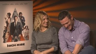high rise sienna miller and luke evans tell us all about tom hiddleston