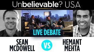 Sean McDowell vs Hemant Mehta - what the other side gets wrong - Unbelievable? USA dialogue