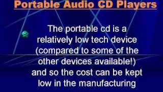 Portable Audio CD Players