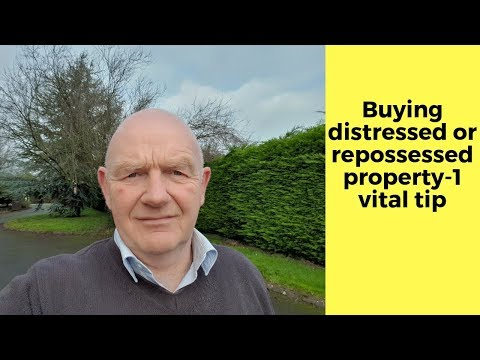 Buying Distressed Property in Ireland -1 Important Tip