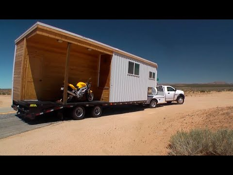 Crazy Unique Tiny House In The Desert