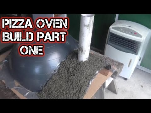 Outdoor Wood Fire Pizza Oven Build Part 1