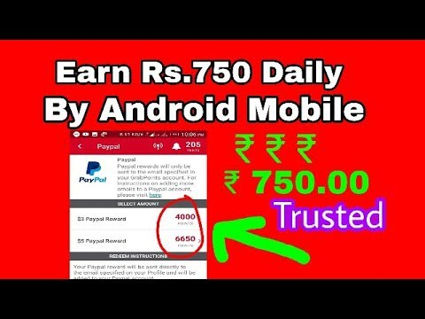 Earn rs750 Daily Paypal Cash by Android Mobile- 100% trusted