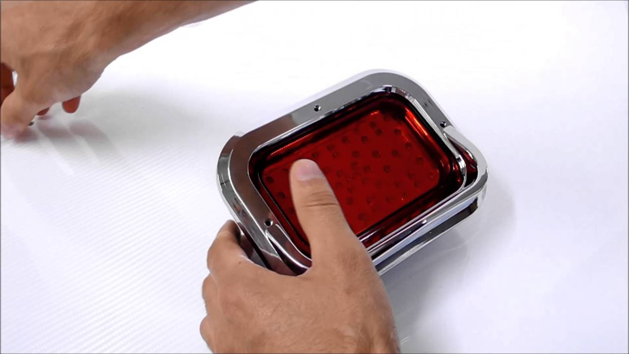 feux rouge a led stop position special look chopper moto doovi. Black Bedroom Furniture Sets. Home Design Ideas