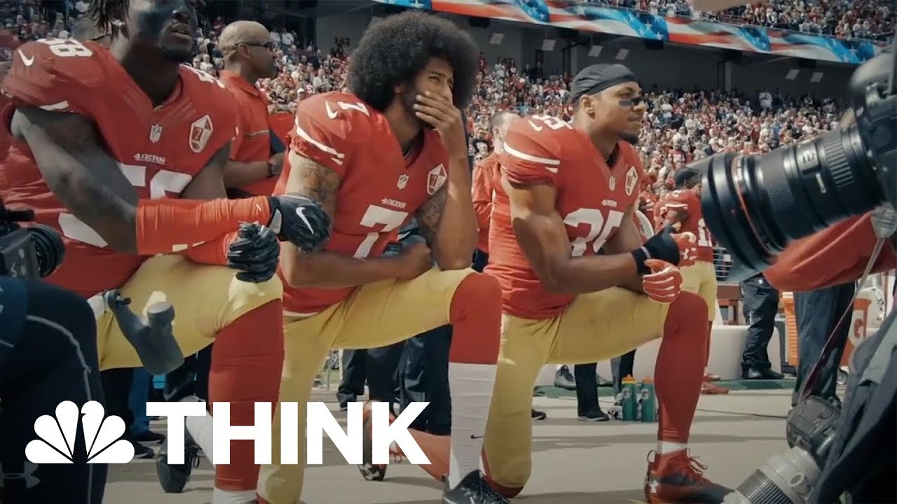 Why Americans can't separate politics from football