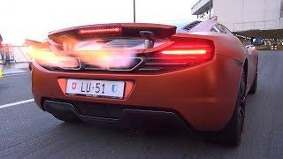 McLaren 12C SHOOTING FLAMES!!