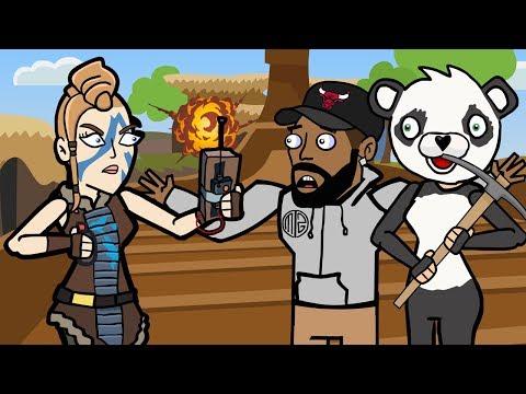 Original Fortnite Animation | The Storm Featuring Daequan | The Squad | Arcade Cloud
