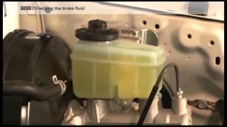 Checking Brake Fluids