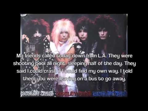 Mötley Crüe - Don't Go Away Mad (Just Go Away) Lyrics ...