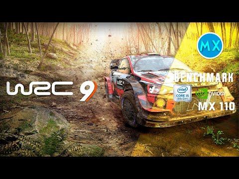 WRC 9 FIA World Rally Championship Nvidia GeForce MX110 i5 8250u Benchmark Samsung Expert X40 |