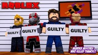 ROBLOX - WHO KILLED THANOS?!!