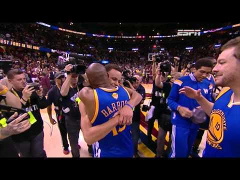 2015 NBA Finals - Golden State Warriors Vs. Cleveland Cavaliers - Closing Moments