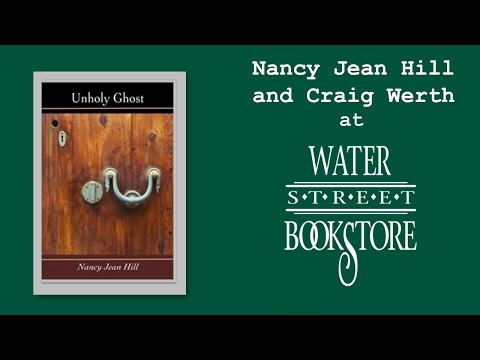 Nancy Jean Hill and Craig Werth at Water Street Bookstore