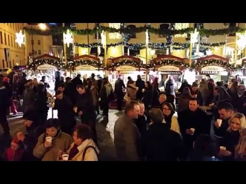 2015 Republic Square Prague Christmas Market