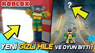 OYUNUN YENİ GİZLİ HİLESİ İLE OYUN BİTTİ! SuperHero Simulator / Roblox Türkçe