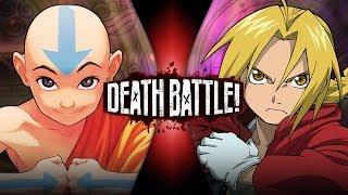Aang VS Edward Elric (Avatar VS Fullmetal Alchemist)  DEATH BATTLE