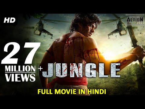 JUNGLE (2018) New Released Full Hindi Dubbed Movie | Full Hindi Movies 2018 | South Movie