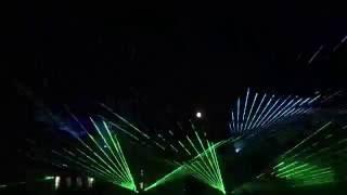 Лазерное шоу на