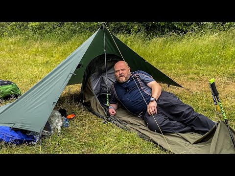 How I Set Up For Tarp And Bivi Camping