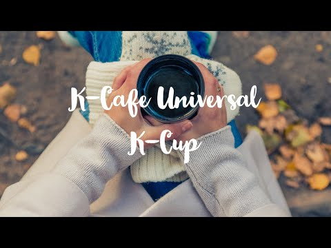 How to use k cafe keurig with universal k cup