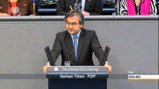 Serkan Tören (FDP): Ausländerrecht und Bundesvertriebenengesetz nicht vergleichbar!