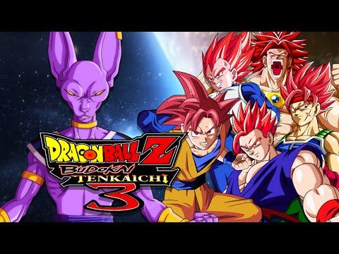 DBZBT3: Lord Beerus VS Super Saiyan Gods (Duels)