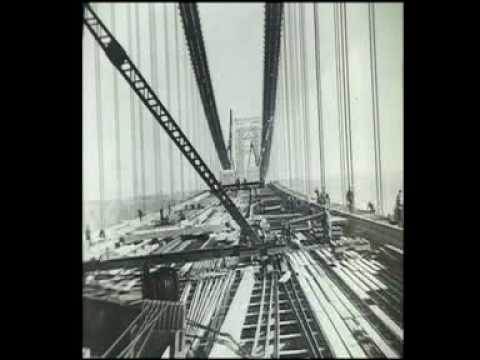 The building of the George Washington Bridge show segment