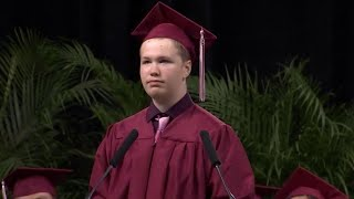 Texas Teen With Autism Delivers Unexpected Graduation Speech