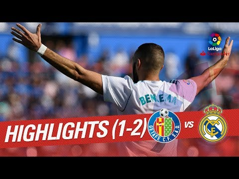 Highlights Getafe CF vs Real Madrid (1-2)