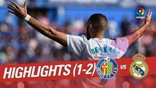 Resumen de Getafe CF vs Real Madrid (1-2)