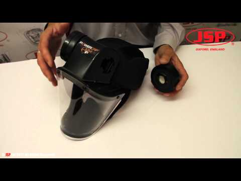 Changing a Powercap® Active Filter - A Guide by JSP Ltd Travel Video