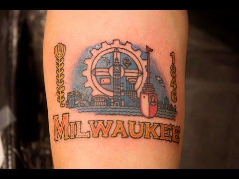 I got a milwaukee flag tattoo youtube for Tattoo removal milwaukee