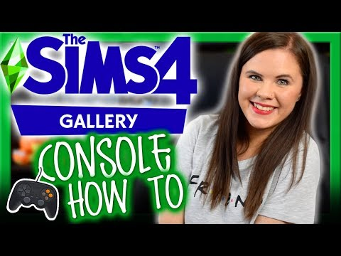 🤩SIMS 4 CONSOLE FINALLY HAS THE GALLERY! 😜 | How To Use The Sims 4 Gallery 🎮 (Console) | Chani_ZA