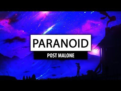 Post Malone ‒ Paranoid (Lyrics) 🎤 [Jordan Bazza Cover]